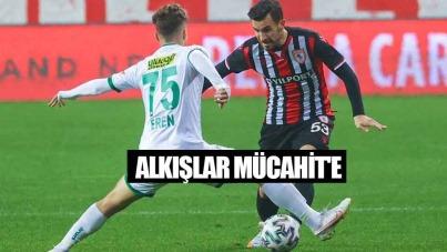 Samsunspor'da Alkışlar Mücahit'e
