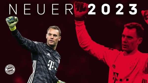 Bayern Münih, Manuel Neuer'in sözleşmesini 30 Haziran 2023'e uzattı