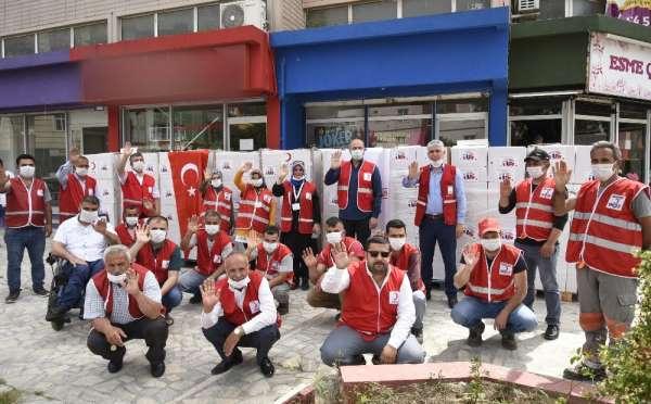 Fransa'dan Tekkeköy'e 300 yardım kolisi