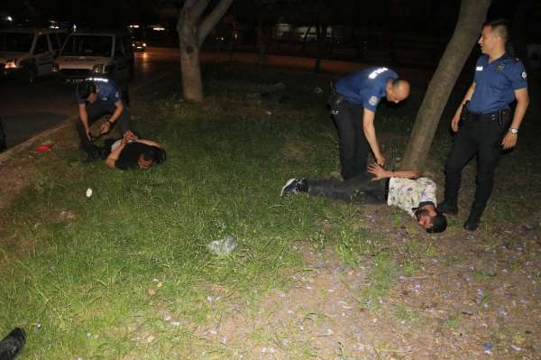 Polisten kaçarken ekip aracına çarptı ardından kaza yapıp yakalandı
