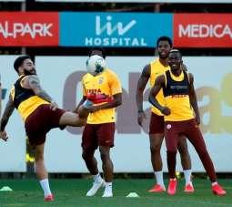 Galatasaray, Gaziantep FK maçı hazırlıklarını tamamladı