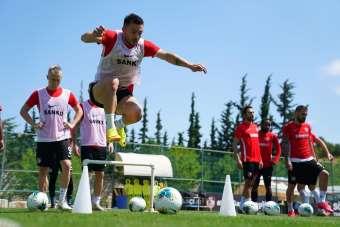 Gaziantep FK, Galatasaray maçı hazırlıklarını tamamladı