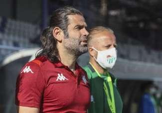 İbrahim Üzülmez: 'İki takımın da pozisyonunun olmadığı, golü atanın kazınacağı m