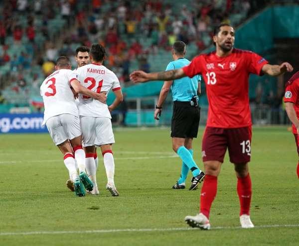 EURO 2020 Avrupa Şampiyonası: İsviçre: 3 - Türkiye: 1
