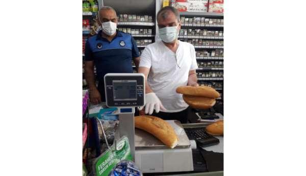Kozanda düşük gramajlı ekmek üreten fırınlara ceza