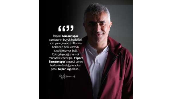 Mehmet Altıparmak: Yolun sonu Süper Lig olsun