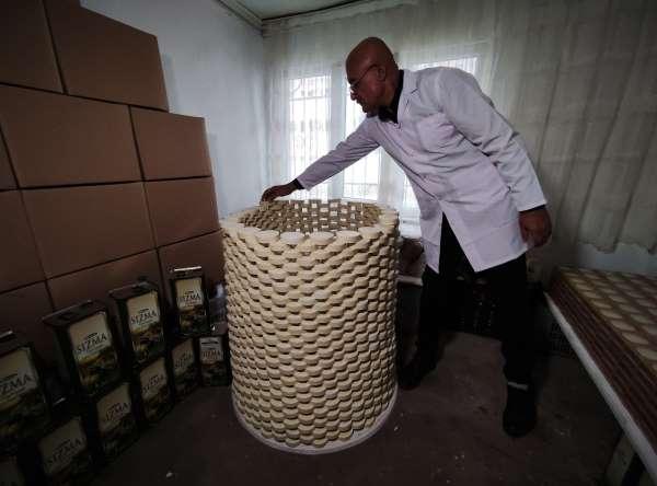Evinde ürettiği sabunları Almanyaya ihraç ediyor