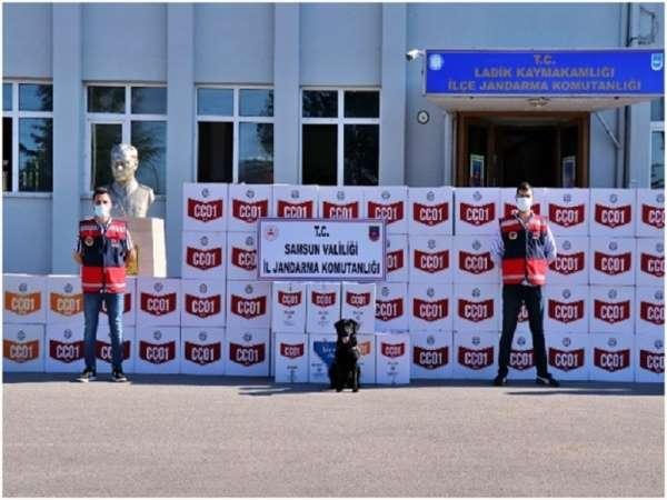 Samsunda kaçak makaron operasyonu: 33 gözaltı