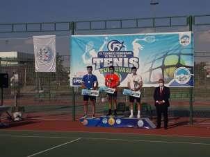 15 Temmuz Demokrasi ve Milli Birlik Günü Tenis Turnuvası sona erdi