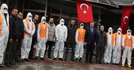 Bafra Belediyesinin pandemi sürecindeki çalışmaları takdir topluyor