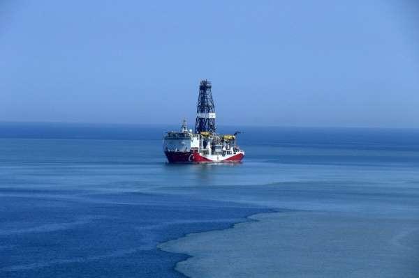 Fatih Sondaj Gemisi, Tuna-1 lokasyonunda ilk sondaja başladı