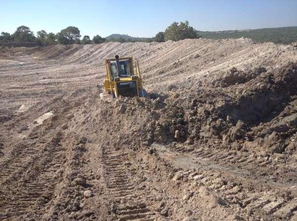 Pelitalan'daki HİS göletinin bakımı yapıldı