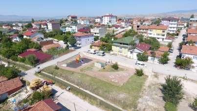 Suluova'da parklar yenileniyor