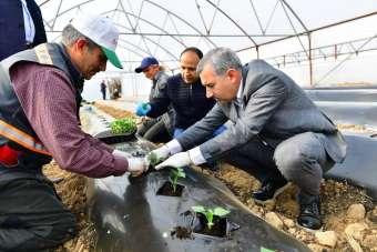 Yeşilyurt'ta doğal ve organik ürünlerle bölge ekonomisine destek