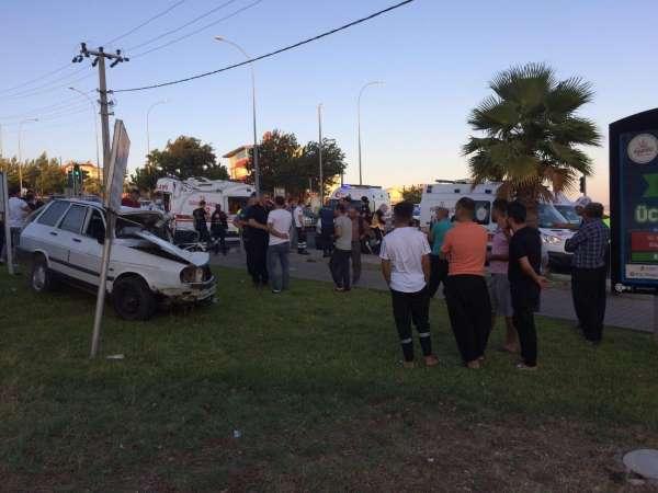 Kahramanmaraşta trafik kazası: Ambulans şoförü hayatını kaybetti
