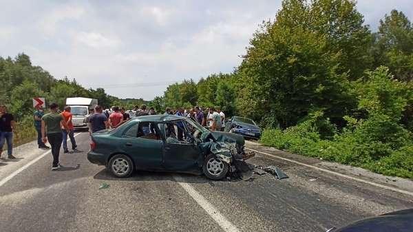 Kurban kesimi dönüşünde kaza: 6 yaralı