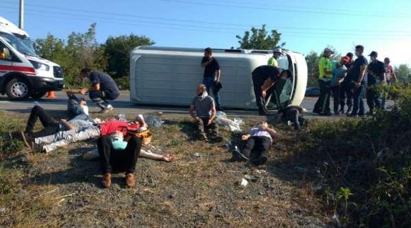 Samsun'daki kazada yaralı sayısı 16'ya çıktı