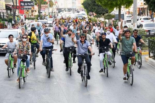 Seçer, Avrupa Hareketlilik Haftası'nda pedal çevirdi
