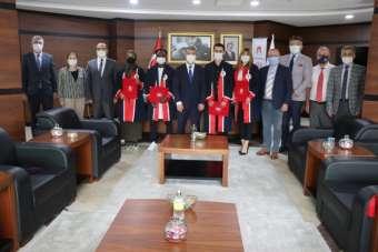 Amasya Üniversitesi'nde temsili mezuniyet töreni