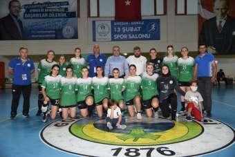 Görele Belediyespor, Kadınlar Hentbol Süper Ligi'nde ilk galibiyetini aldı