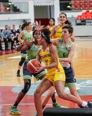 Kadınlar Basketbol Süper Ligi: Bellona Kayseri Basketbol: 62 - Nesibe Aydın Bask