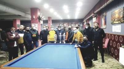 Tatvan'da 'Bilardo Bölge Şampiyonası' düzenlendi