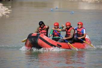 Terörden temizlenen Zap Suyu'nda Türkiye Şampiyonası hazırlığı