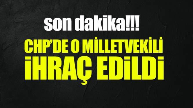 Kılıçdaroğlu'na Meydan Okuyan CHP'li Vekil İhraç Edildi!