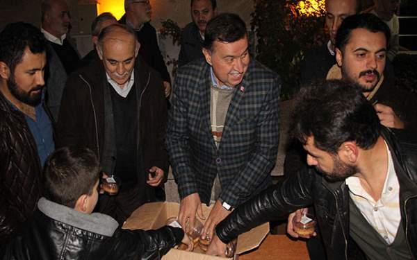 Samsun Haberleri: Havza'da Kandil Simidi Dağıtıldı