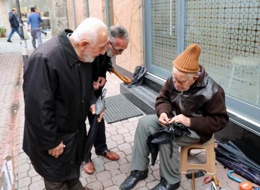 Samsun Haberleri: Samsun'da 90'lık Şemsiye Tamircisi Herkesi Şaşırtıyor!