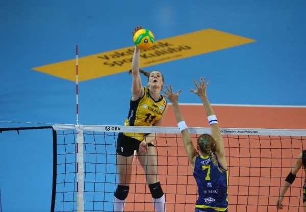 2020 CEV Kadınlar Şampiyonlar Ligi: VakıfBank: 2 - Scandicci: 3