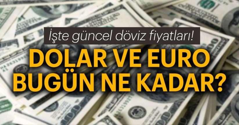 21 Kasım Perşembe Samsun'da Dolar ve Euro ne kadar?