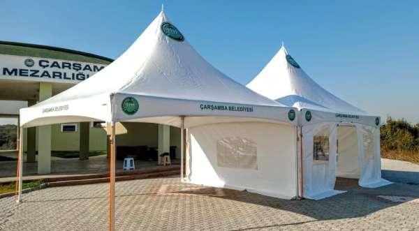 Çarşamba Belediyesi Cenaze Hizmetleri Birimini kurdu