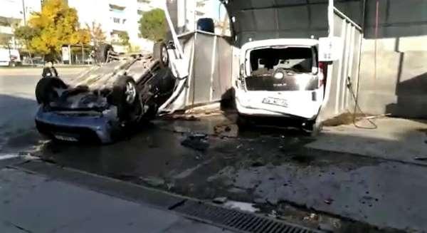 Kahramanmaraş'ta trafik kazası: 2'si çocuk 3 yaralı