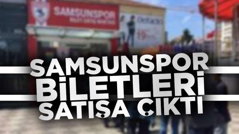 Samsunspor Şanlıurfaspor maç biletleri satışa çıktı