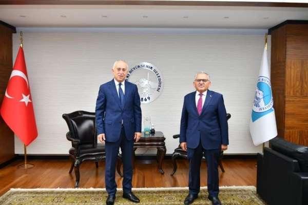 ASKF Başkanı Soykarcı'dan Büyükkılıç'a ziyaret