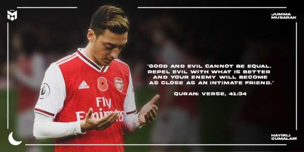 Mesut Özil'den İslam karşıtlığı ile ilgili paylaşım