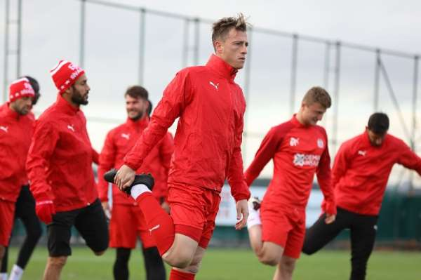 Sivasspor, Fatih Karagümrük maçına hazır
