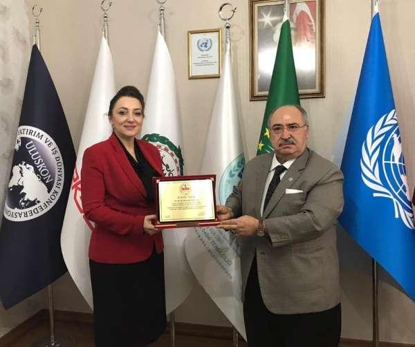 ULUSKON Genel Başkanı Atasoy'a büyük onur