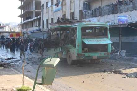 Zeytin Dalı Harekatı'nın yıldönümünde Afrin'de patlama: 2 ölü