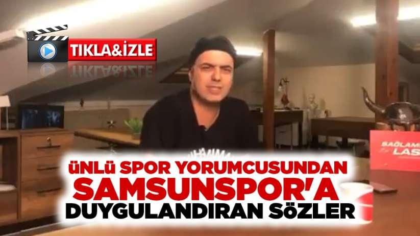 Ali Ece'den Samsunspor'a duygulandıran sözler