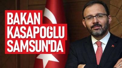 Bakan Kasapoğlu, Samsun'da