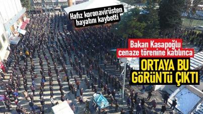Bakan Kasapoğlu, Samsun'da cenaze törenine katıldı