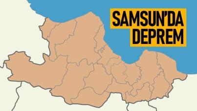 Son Dakika! Samsun'da deprem meydana geldi