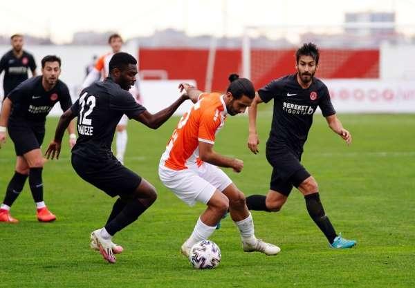TFF 1. Lig: Ümraniyespor: 1 - Adanaspor: 0