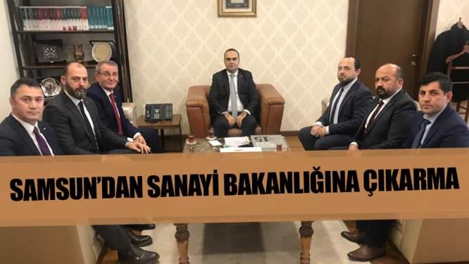 Samsun'da Sanayi Bakanlığına çıkarma!
