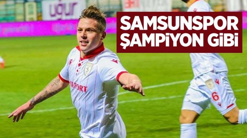 Samsunspor Şampiyon Gibi