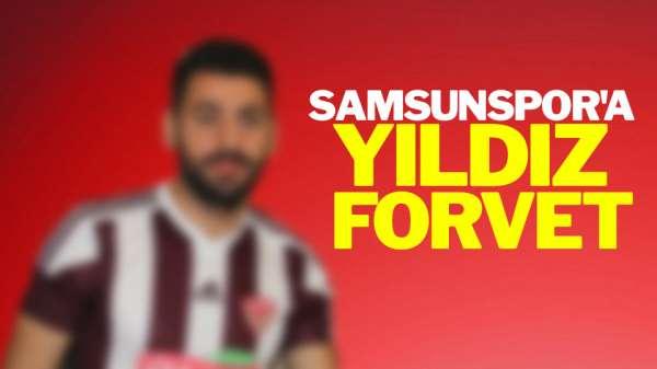 Samsunspor'a Yıldız Forvet