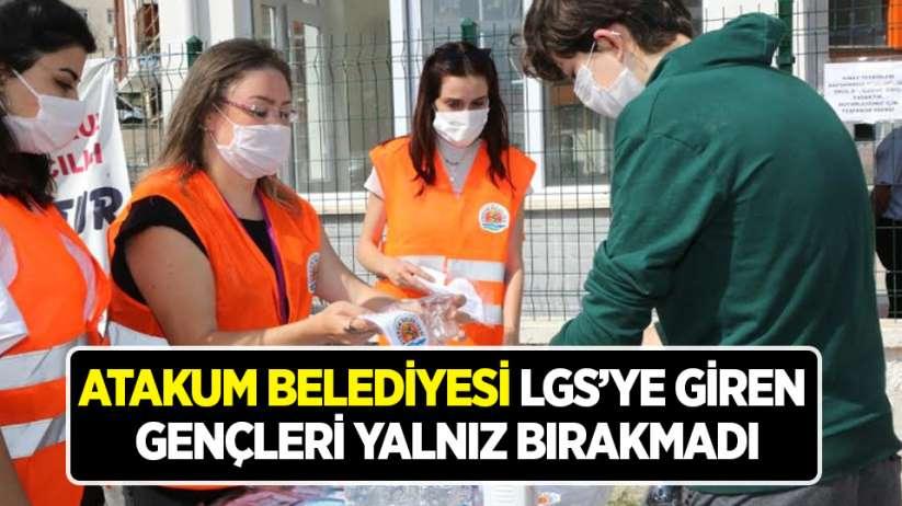 Atakum Belediyesi LGSye giren gençleri yalnız bırakmadı