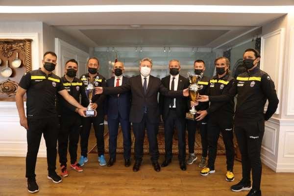 Kayseri Masterler Spor Kulübünden Başkan Palancıoğluna ziyaret